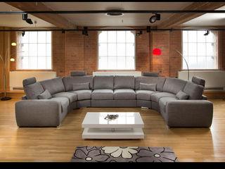 Grande sofa range. Quatropi ltd 现代客厅設計點子、靈感 & 圖片
