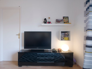 demarcasueca Modern Living Room Black