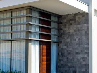 Espaço do Traço arquitetura Modern Houses Stone Grey