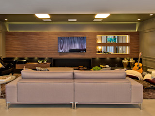 Espaço do Traço arquitetura Modern Media Room