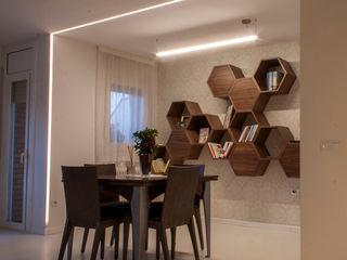 Lavolta Ruang Makan Modern Kayu Wood effect