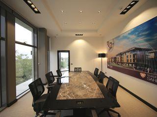 TEKNİK YAPI SHOWROOM Kerim Çarmıklı İç Mimarlık Modern Çalışma Odası
