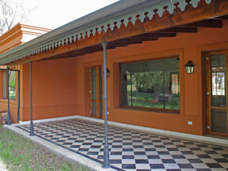 Loo Mapu Aulet & Yaregui Arquitectos Casas rurales