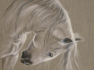 Odile Laresche Artiste Peintre Animalier ArbeitszimmerAccessoires und Dekoration