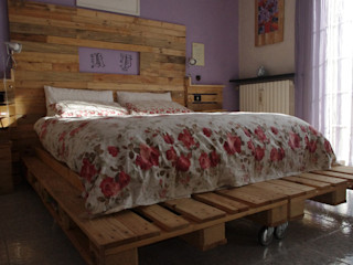 Dilegno InLegno BedroomBeds & headboards Wood Wood effect