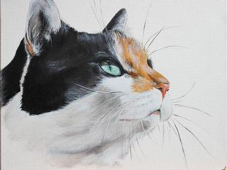 Odile Laresche Artiste Peintre Animalier HaushaltHaustierzubehör