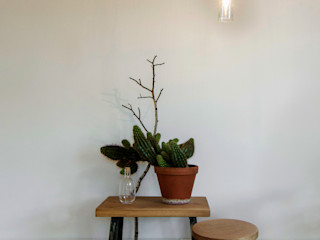 Birgit Glatzel Architektin Living roomStools & chairs Wood Green