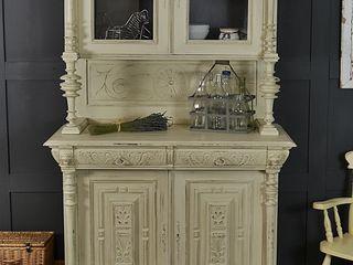 Shabby Chic Off White French Buffet / Kitchen Dresser The Treasure Trove Shabby Chic & Vintage Furniture KitchenStorage Wood Beige