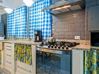 Studio Boscardin.Corsi Arquitetura Rustic style kitchen