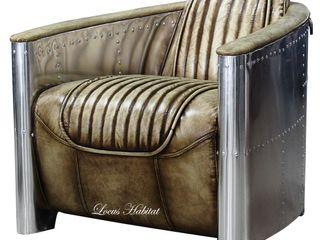 Locus Habitat 客廳沙發與扶手椅 皮革 Multicolored