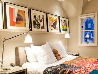 Bedroom Studio 29 Architects ltd Modern Bedroom Beige