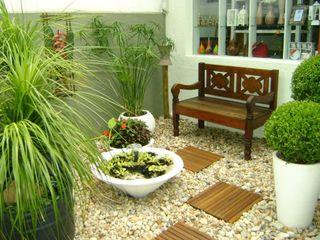 MC3 Arquitetura . Paisagismo . Interiores Country style garden