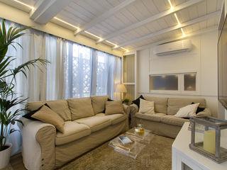Fabio Carria Modern living room Wood White