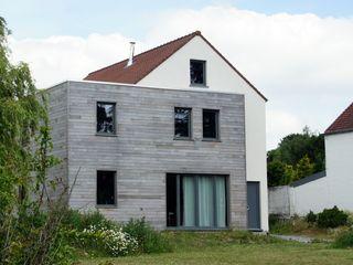 Bureau d'Architectes Desmedt Purnelle Case moderne Legno