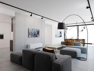 Ale design Grzegorz Grzywacz Scandinavian style living room