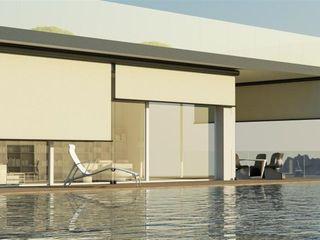 Els Home Балкони, веранди & тераси Аксесуари та прикраси Алюміній / цинк Бежевий