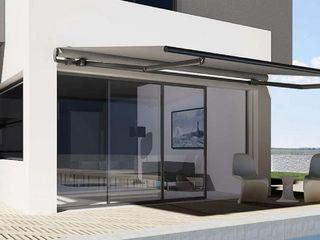 Els Home Балкони, веранди & тераси Аксесуари та прикраси Алюміній / цинк Білий