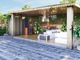 villa 05 GRNT3D Klasik Bahçe