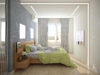 Студия интерьерного дизайна happy.design Modern style bedroom