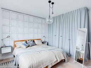 Loft Factory Scandinavian style bedroom
