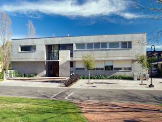 Casa La Colina JV&ARQS Asociados Casas modernas: Ideas, imágenes y decoración Hormigón