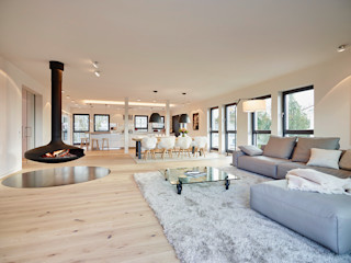 HONEYandSPICE innenarchitektur + design Salones de estilo moderno