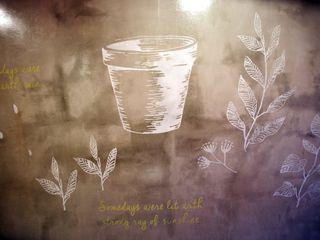 유니스의정원(이풀실내정원) 인테리어벽화 몰핀아트 인더스트리얼 발코니, 베란다 & 테라스