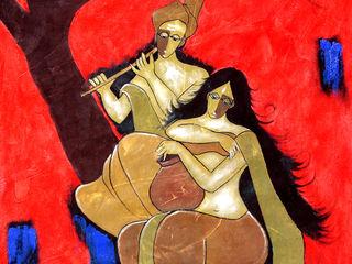 Indian Art Ideas ArteImagens e pinturas Linho Vermelho