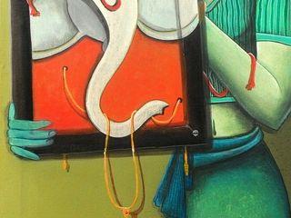 Indian Art Ideas ArteImagens e pinturas Linho Castanho