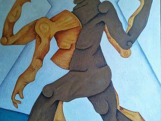 Indian Art Ideas ArteImagens e pinturas Linho Azul