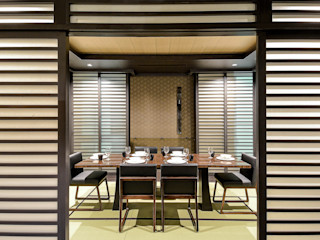 Kasara Townhouse Design Intervention Asian style dining room