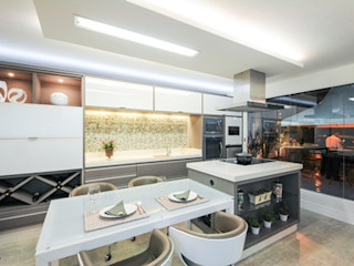 Habitat arquitetura Cocinas de estilo moderno