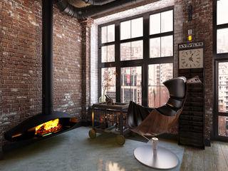 Александра Клямурис Industrial style living room