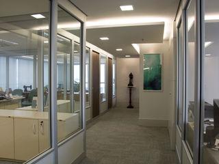 Projeto Corporativo - Platinun Tower Tania Bertolucci de Souza   Arquitetos Associados Escritórios modernos