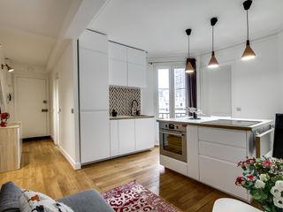 Transition Interior Design Modern Kitchen White