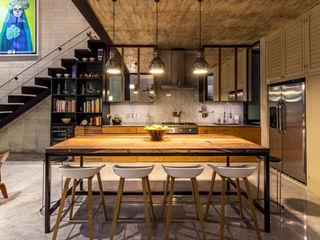 Taller Estilo Arquitectura Кухни в эклектичном стиле