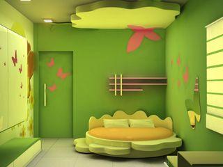 ES Designs Nowoczesny pokój dziecięcy