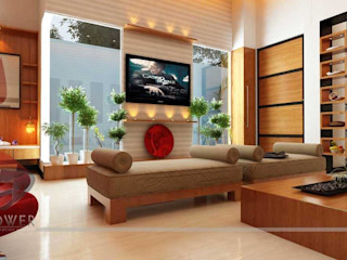 3D Power Visualization Pvt. Ltd. Salas de estilo moderno
