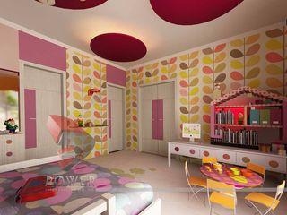 3D Power Visualization Pvt. Ltd. Cuartos infantiles de estilo moderno