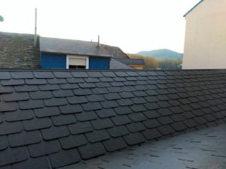 pizarra y tejado