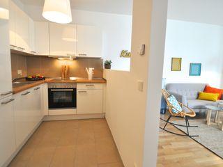 kleine Musterwohnung Karin Armbrust - Home Staging Skandinavische Küchen