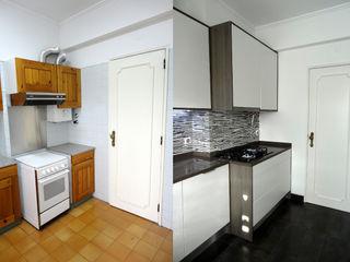 Happy Ideas At Home - Arquitetura e Remodelação de Interiores Modern Kitchen
