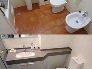 Happy Ideas At Home - Arquitetura e Remodelação de Interiores Modern Bathroom