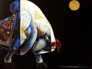 Indian Art Ideas ArteImagens e pinturas Preto