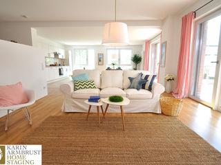Musterwohnung maritim/klassisch/klassisch Karin Armbrust - Home Staging Klassische Wohnzimmer