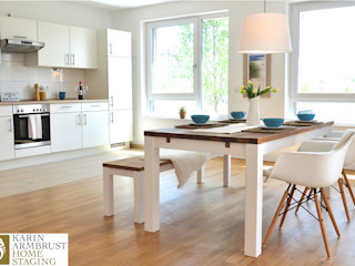 Musterwohnung maritim/klassisch/klassisch Karin Armbrust - Home Staging Klassische Esszimmer
