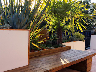 Terrasse méditerranéenne Fertiles JardinFleurs & Plantes