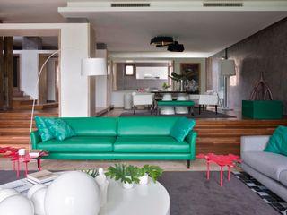 SA&V - SAARANHA&VASCONCELOS Salas de estilo moderno