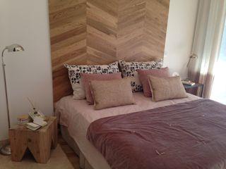 Azora Estudio Eclectic style bedroom