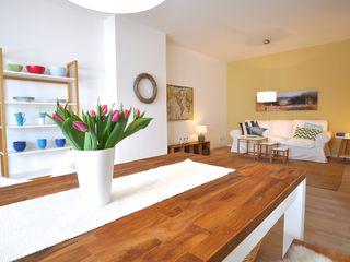 Home Staging einer Mietwohnung direkt an der Weser Karin Armbrust - Home Staging Esszimmer im Landhausstil